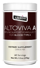 AltoViva A - Immune Support Formulated For Blood Type A