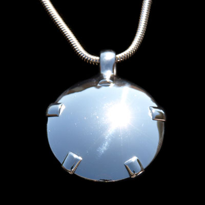 1001-P Level 2: Sterling Silver w/Silver Tabs Polished