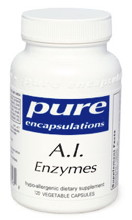 AI Enzymes 60 or 120 vcaps