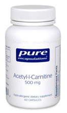 Acetyl-L-Carnitine 500 mg 60 vcaps