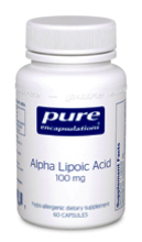 Alpha Lipoic Acid 100 mg 60 vcaps