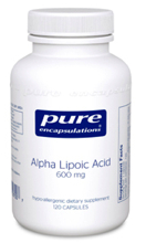 Alpha Lipoic Acid 600 mg 60 vcaps