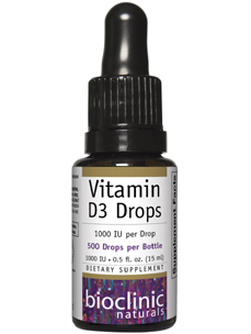 Vitamin D3 Drops 1000 IU