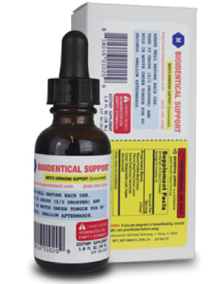 Mens Bioidentical Support 1oz