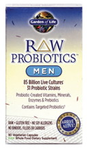 RAW Probiotics Men 90 vcaps
