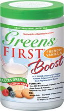 Greens FIRST Boost French Vanilla 10.5 oz