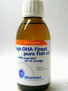 High DHA Finest Pure Fish Oil 150 ml