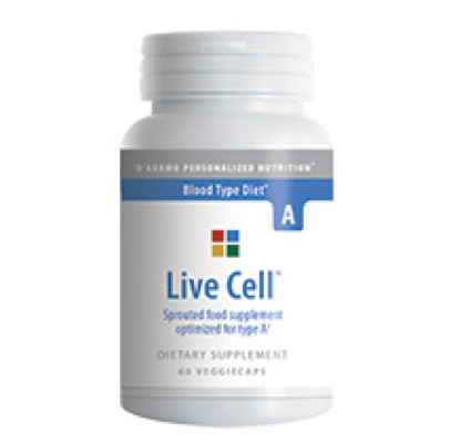 Live Cell A (sprouted foods complex)