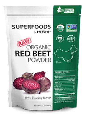 Raw Organic Red Beet Powder 8.5 oz
