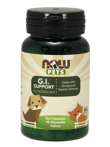 G.I Support for Dogs/Cats 90 chewable tablets