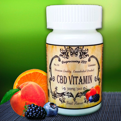 No.33 Cannabidiol (CBD) Multivitamins 300MG / 30 Gummies