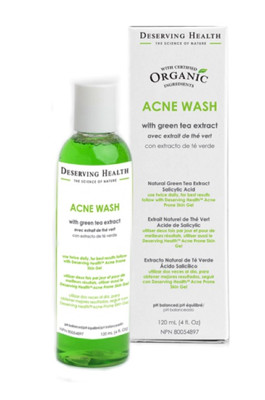 Acne Wash With Green Tea Extract 4 oz