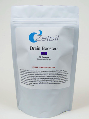 Brain Booster Suppositories - 30 Count