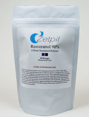 Resveratrol 98% 30 Suppositories
