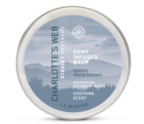 Hemp Infused Balm 450mg - Soothing Scent 1.5 oz