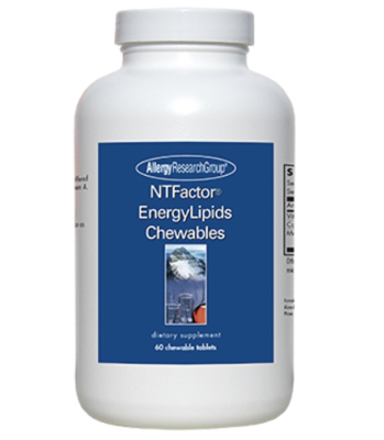 NT Factor EnergyLipids Chewables 60 chewable tablets