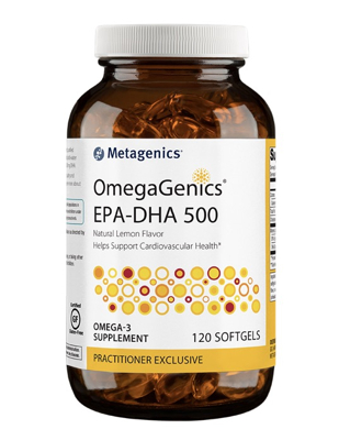 OmegaGenics EPA-DHA 500 Lemon