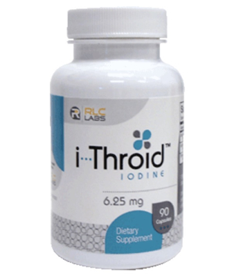 i-Throid 6.25mg 90 vcaps | RLC Labs