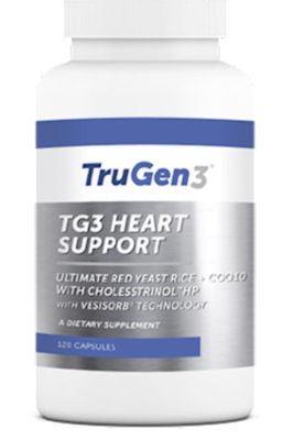 TG3 Heart Support 120 vegcaps