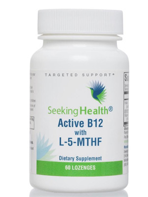 Active B12 with L-5-MTHF 60 Lozenges