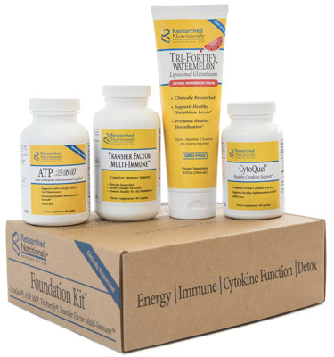 Researched Nutritionals Foundation Kit