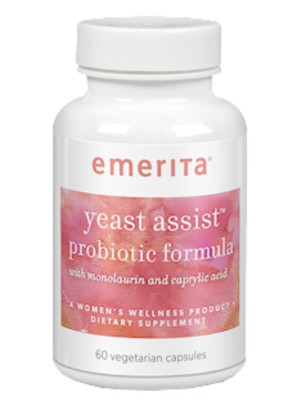 Yeast Assist Probiotic Formula 60 vegcaps