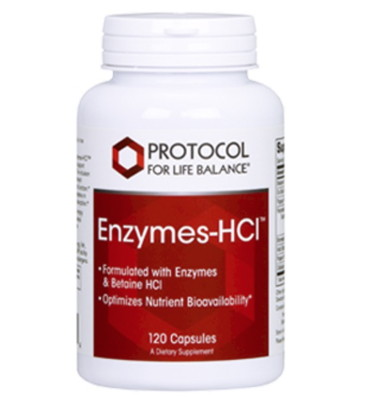 Enzymes-HCl 120 caps