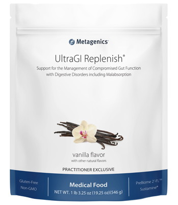 UltraGI Replenish Vanilla - 14 Servings