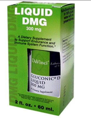 Gluconic DMG Liquid 300 mg 2 oz