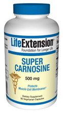 Super Carnosine 500mg 90 caps