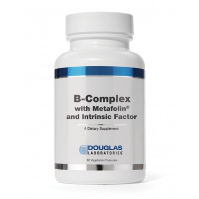 B-Complex with Metafolin and Intrinsic Factor 60 caps