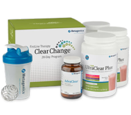 Clear Change 28 Day Program with UltraClear RENEW