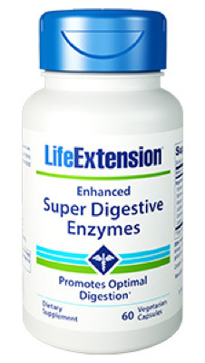 Enhanced Super Digestive Enzymes 60 vcaps