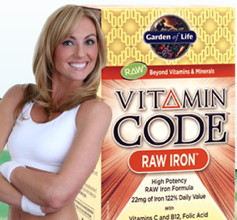 Vitamin Code Raw Iron 30 vcaps