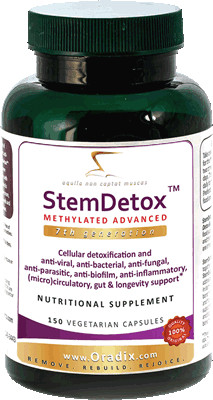 StemDetox Professional detoxification 150 caps