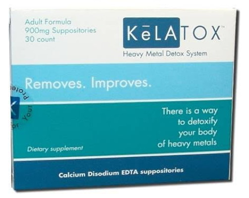 KeLATOX EDTA Suppositories (900mg - 30ct)