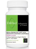 Mega Probiotic-ND with Digestive Enzymes Cherry 90 chew