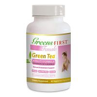 Greens First Female - Green Tea Vitality Formula 60 vcaps