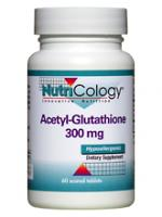 Acetyl-Glutathione 300 mg - 60 tablets