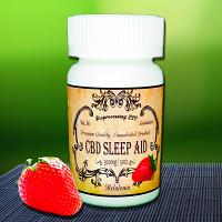 No.34 Cannabidiol (CBD) Sleep Aid 300MG / 30 Gummies