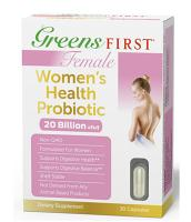 Greens First Female-Women's Health Probiotics 30 caps