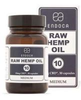 Endoca 10mg RAW CBD Softgels