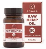 Endoca 50mg RAW CBD Softgels (STRONG)