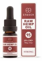 Endoca RAW CBD Oil - 1500mg of CBD +CBDa