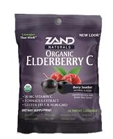 Organic Elderberry C 18 HerbaL Lozenge
