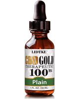 CBD Gold Therapeutic Plain 100mg 1 fl oz