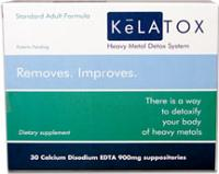 Kelatox Pediatric Strength 450mg Suppositories - 30 Count